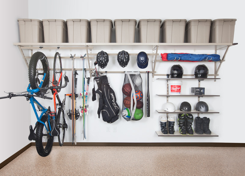 Raleigh Garage Shelving