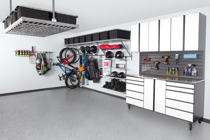 Coordinated Garage Storage Raleigh