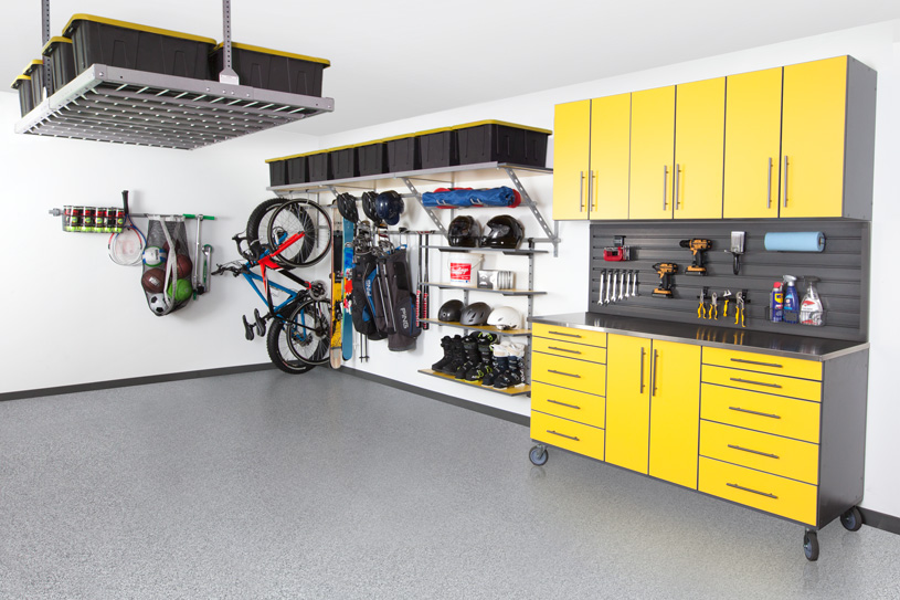 Unique Garage Makeovers Raleigh